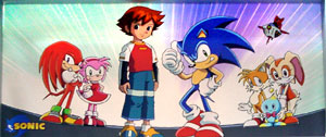 The Sonic X Cast